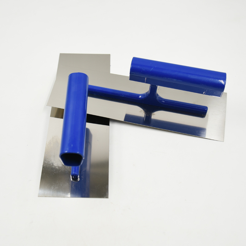 Durable Plastering Skimming Trowel Alloy Blade Wall Scraper Tile Flooring Grout Float Tiling Smooth Finishing Construction Tool
