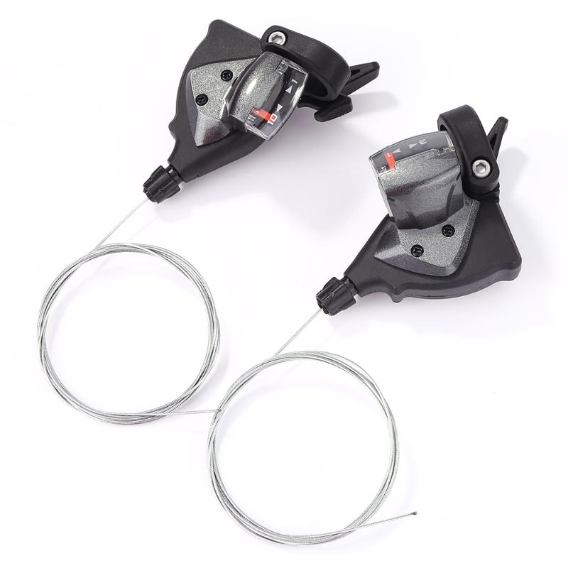1 Pair 10/30 11/33 Speed Bicycle Shifter Aluminum Alloy MTB Mountain Road Bike Derailleur Trigger Cycling Equipment Tool