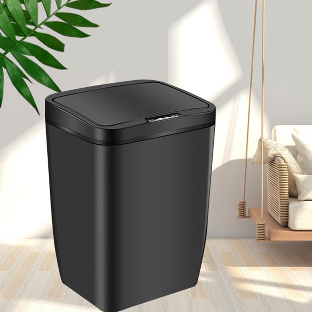 Automatic Induction Sensor Dustbin Kitchen Waste Bin Rubbish Trash Garbage Can