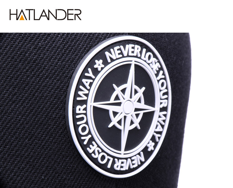 Hc8f6c576e0b24b888c826cae04ad7c09F - HATLANDER Original Baseball caps for men women black snapback cap high quality cool hip hop cap 6panels bone mesh truck cap hat