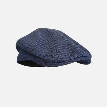 Beret Caps Outdoor Sun Breathable Flat Hats Womens Mens Ivy Cap Solid Color Duckbill Hats Vintage Gatsby Beret Hat BLM211