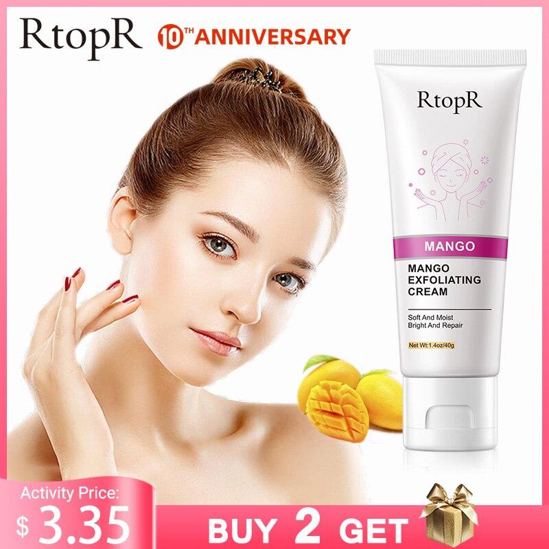 Skin Care Face Exfoliating Cream Whitening Moisturizer Repair Facial Scrub Cleaner Acne Blackhead Treatment Remove Face Cream