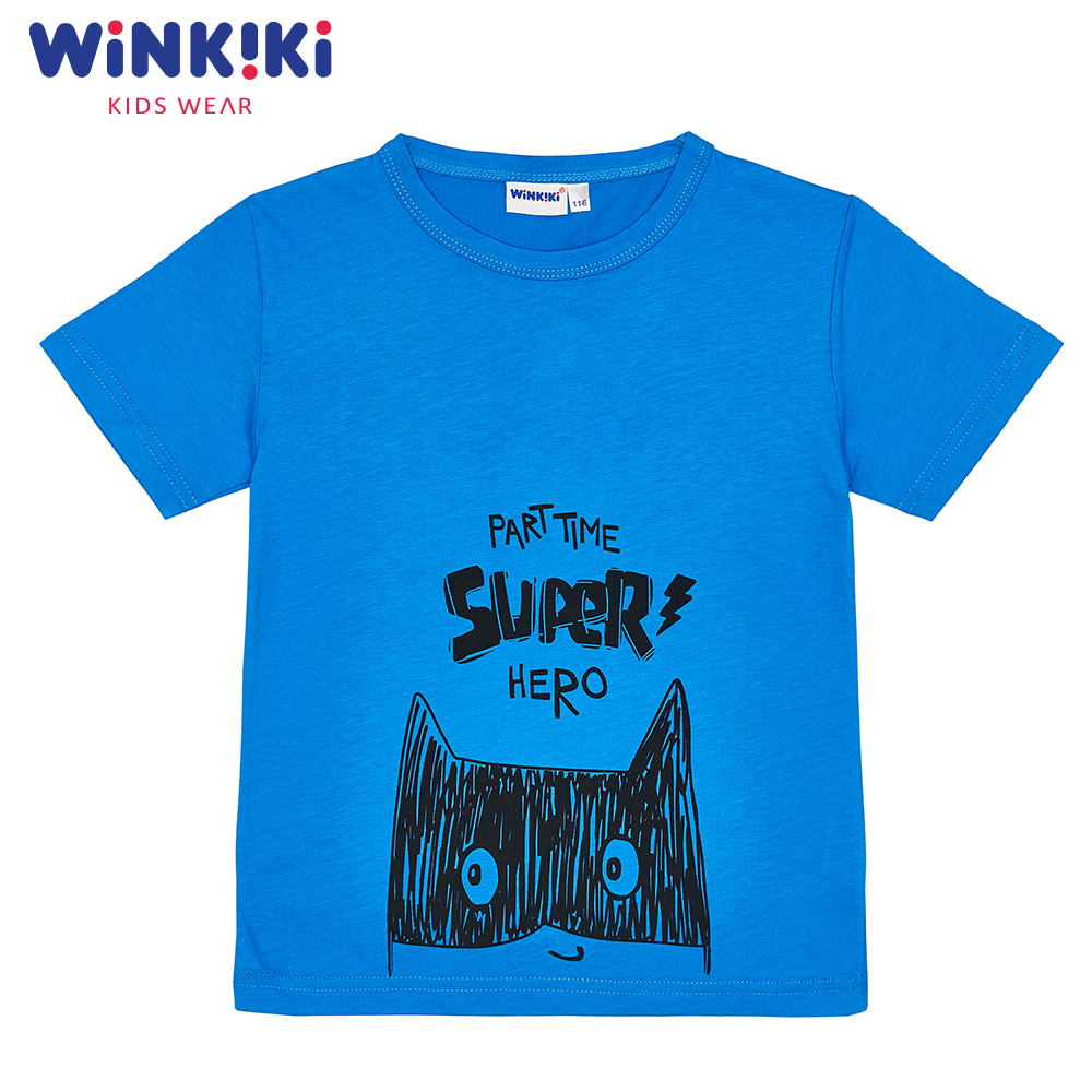 T-Shirts WINKIKI WKB91324 children clothing t-shirt t-short for boys and girls top tunic Cotton  Boys pants kotmarkot 80100 children clothing for girls kid clothes