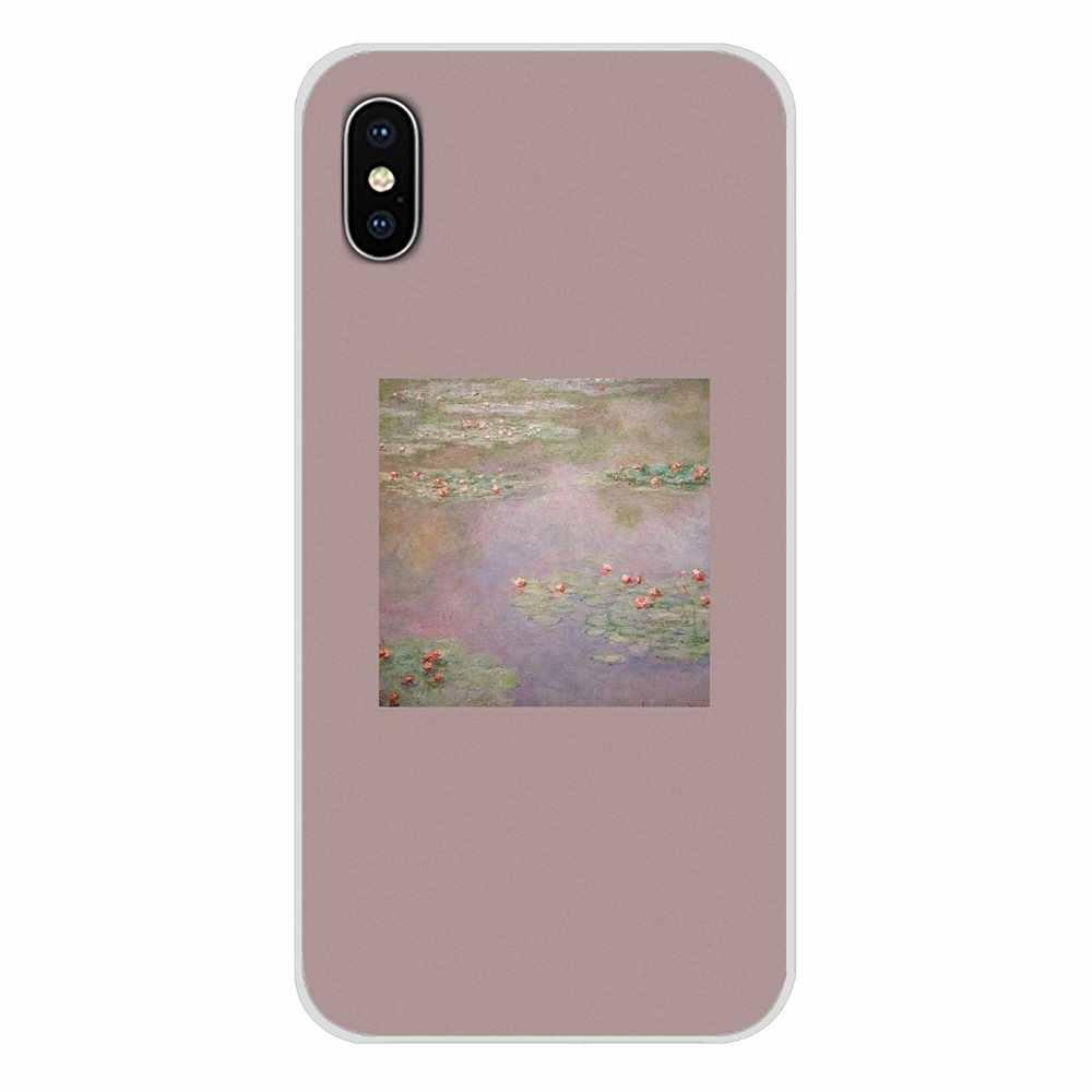 Van Gogh Arte Spray Para Samsung Galaxy A3 A5 A7 A9 A8 Estrela A6 Mais 2018 2015 2016 2017 Acessórios escudo do telefone Covers
