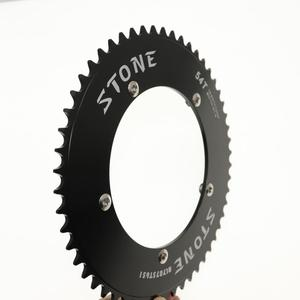 Image 2 - Stone Chainring 144 BCD do toru rower z ostrym kołem fixie 42/44/46/48/50/52/54/56/58/60T kolarstwo 144BCD płytka zębata koła łańcuchowego