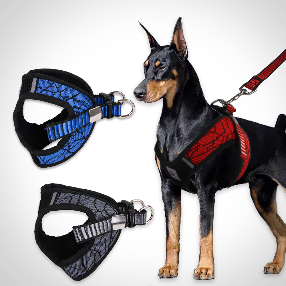 Sleeves Pet's Chest-back Hand Holding Rope Creative New Products Medium-sized Dog Anti-Scour Neck Ring Chest And Back