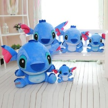 Stitch disney 20-80cm Giant Cartoon lilo and stitch & peluche Plush Toy Doll Children Stuffed For Baby Birthday gift