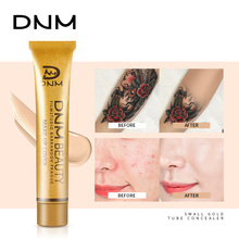 Full Skin Face Concealer Foundation Cream Blemish Cover Dark Spot Tattoo Contour Makeup Liquid Corrector Cosmetics