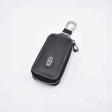 Leather Car Key Bag for Lincoln LS 06 MKT MKX MKZ MKC TownCar Navigator Key Holder Vehicle Key Wallets Cover Auto Accessories все цены