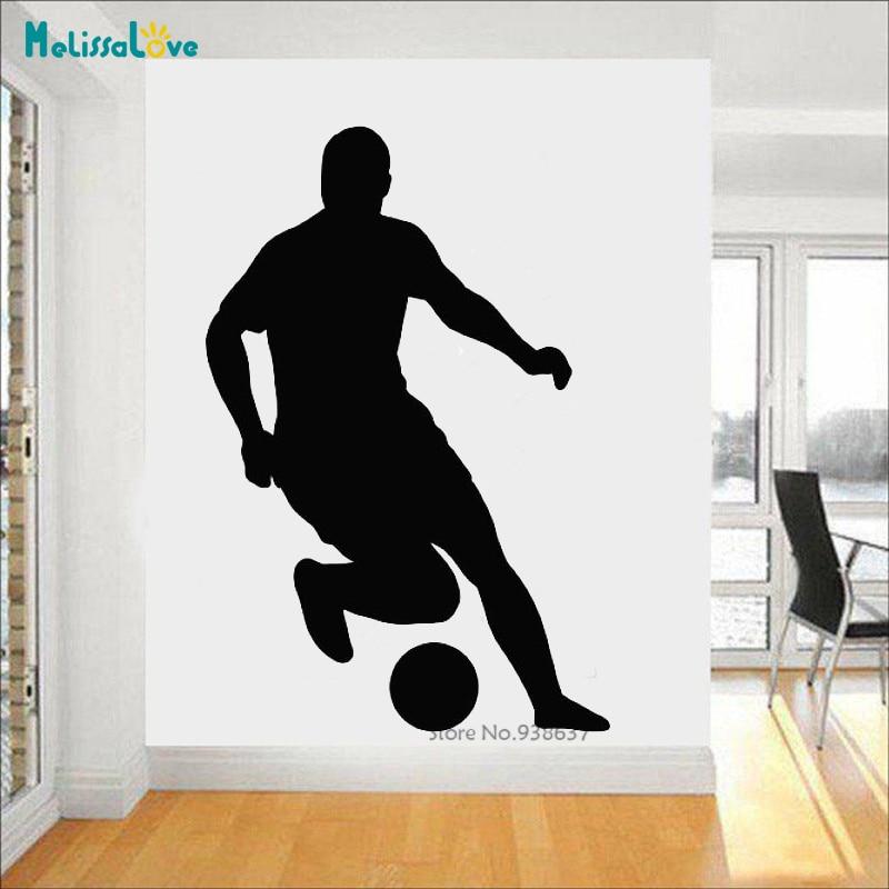 Football Kids Sports Soccer Ball Boys Home Decor Wall Stickers Rooms Decor Home Decor Decor Decals Stickers Vinyl Art
