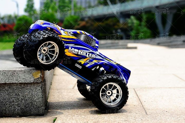 Free shipping RC Monster HSP 94188 Nitro 4WD 2.4GHz 110 RTR RC CAR Big Foot d3