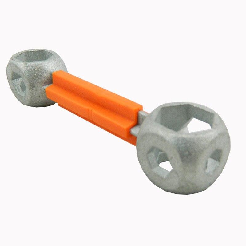 10in1 Bike Repair Multi Tool Hexagon Holes Spanner Dog Bone Shape Torque Wrench