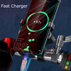 360 Rotatable Bike Mobile Phone Holder Motorcycle Bicycle Moto Bike USB Charge Phone Holder Support handlebar Mount Clip Bracket