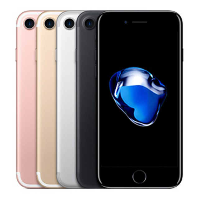 Original Apple iPhone 7 Fingerprint 2GB RAM 32/128/256GB ROM iOS 4G LTE Unlocked Mobile Phone 12.0MP GPS Quad-Core Cellphone