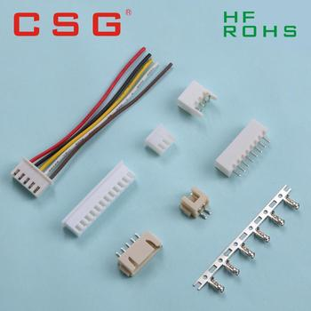 10Sets JST XH2.54 XH 2.54mm Wire Cable Connector 2/3/4/5/6/7/8/9/10 Pin Pitch Male Female Plug Socket 20cm Wire Length 26AWG image