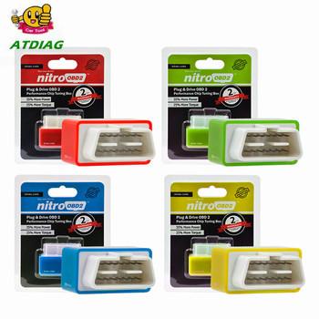 4 kolory Nitro OBD2 EcoOBD2 skrzynka tuningowa ECU wtyczka i sterownik NitroOBD2 Eco OBD2 dla samochodów 15 oszczędność paliwa większa moc tanie i dobre opinie ATDIAG CN (pochodzenie) english Czytniki kodów i skanowania narzędzia