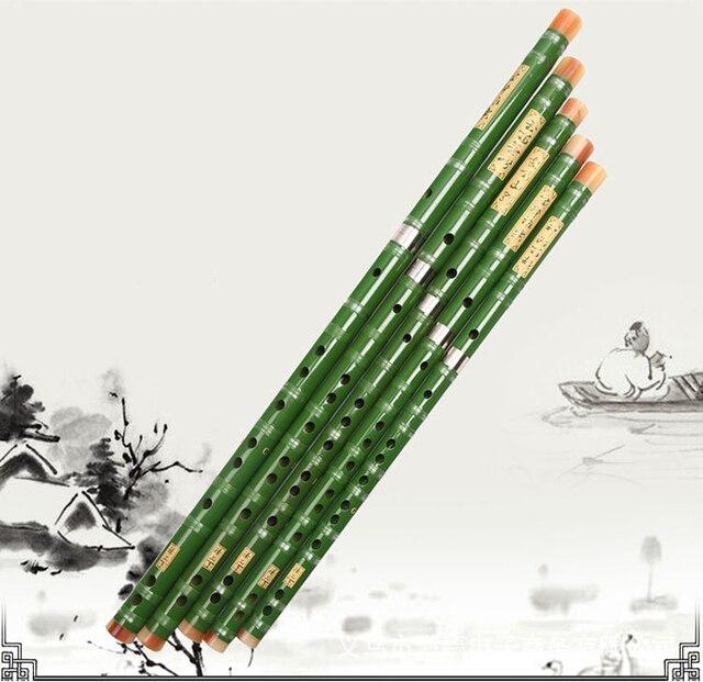 Flet bambusowy profesjonalne flety dęte drewniane instrumenty muzyczne C D E F G klucz chiński dizi poprzeczny Flauta Student, początkujący
