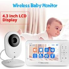 4.3 inch Wireless Color Babyfoon Audio Video Baby Camera Walkie Talkie Temperatuur Monitor Security Camera IR Nachtzicht