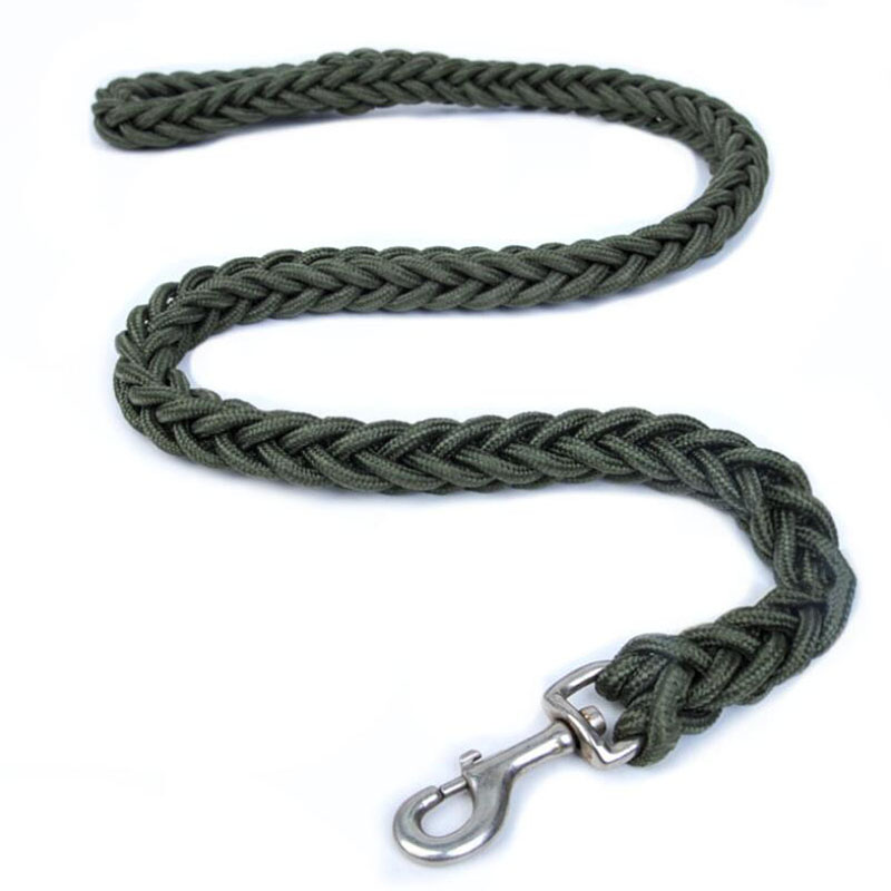 Nylon Dog Harness Leash For Medium Large Dogs Leads Pet Training Running Walking Safety Mountain Climb Big Dog Tenacity Ropes