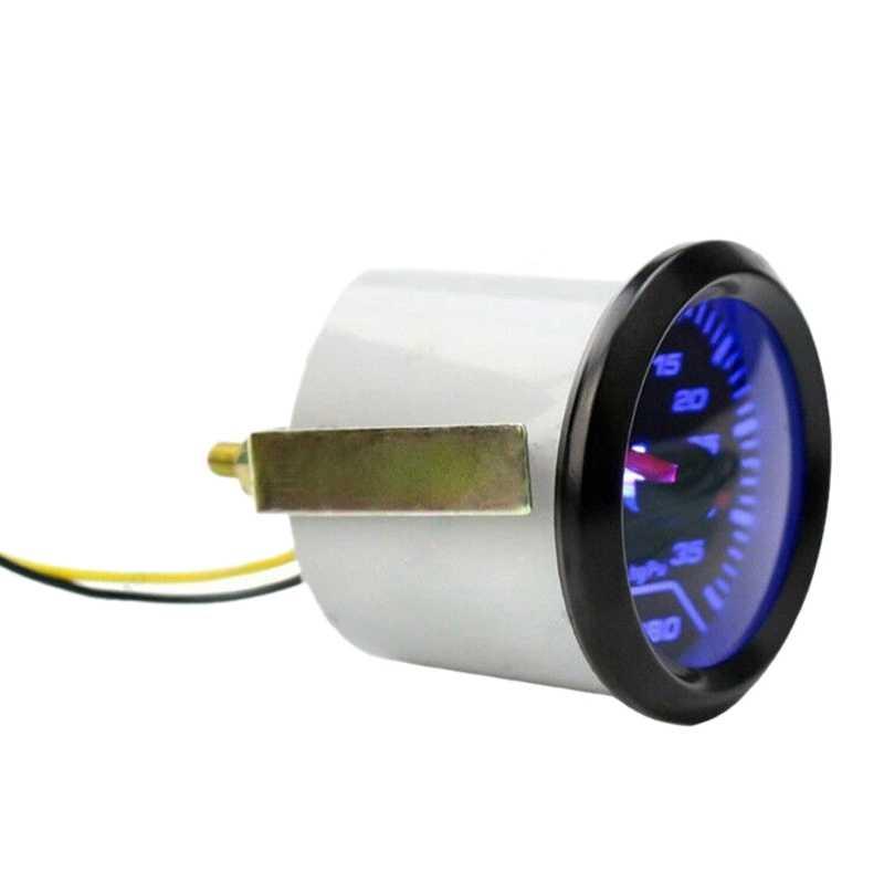 2 дюйма 52 мм автомобильные солнцезащитные очки указатель синий светильник Турбокомпрессоры Psi Fdg