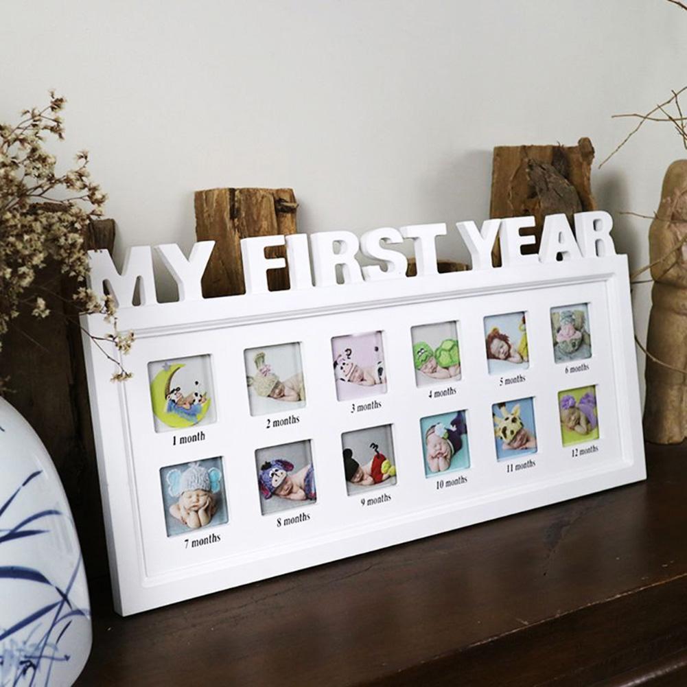 12 Grid DIY 0-12 Month Baby