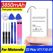 3850 mah hz40 para motorola moto z2 jogar bateria dupla sim T1710-11 XT1710-08 xt1710 XT1710-06 XT1710-09 bateria