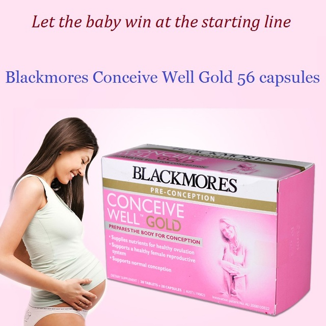 Blackmores Conceive Well Gold 56Caps 3
