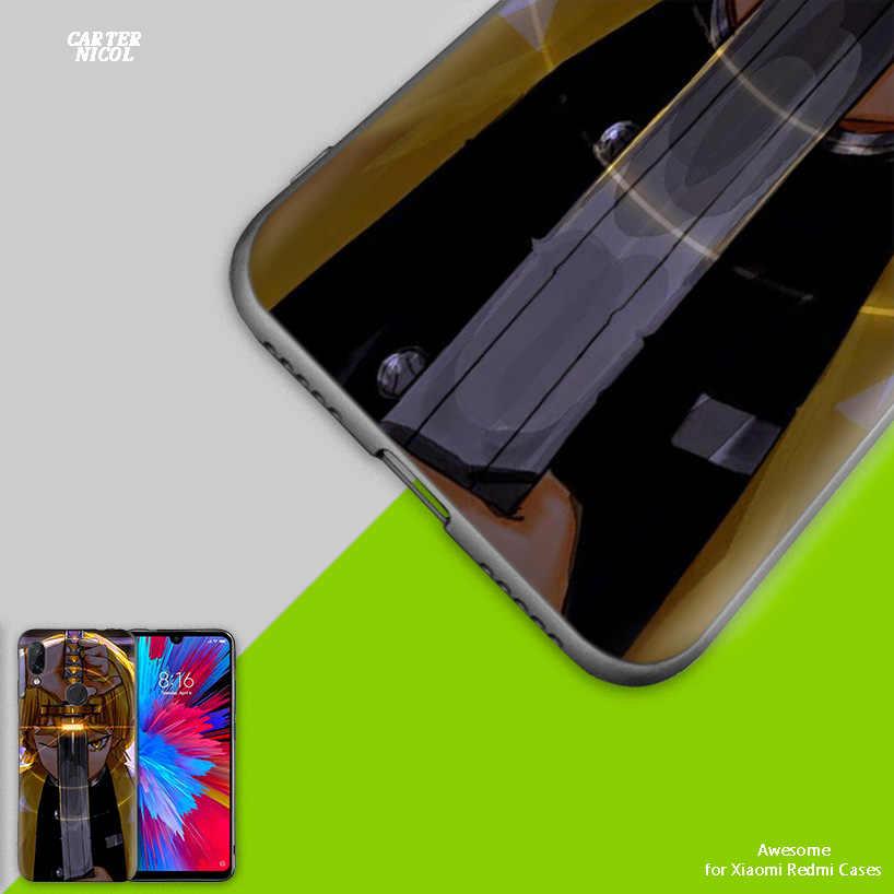 Силиконовый чехол для Xiaomi Redmi Note 7 8 7A фотоаппаратов моментальной печати 7S 6 6A 5 K20 mi 9T CC9 CC9E A1 A2 A3 8 Play Lite рro F1 Kimetsu Yaiba