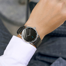 Watches for Men Business Casual Luxury FOU99 Dressy Minimalist Fashion Ultra-Thin