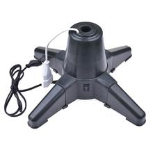 Christmas Tree Stand Electric Rotating 360 Degree Base With 3 Gears For Decoration
