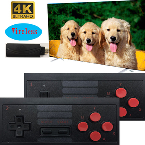 4K HDMI Video Game Console Built in 628 Classic Games Mini Retro Console 2.4G Wireless Controller HD OUT Dual Players Y2 8 BIT