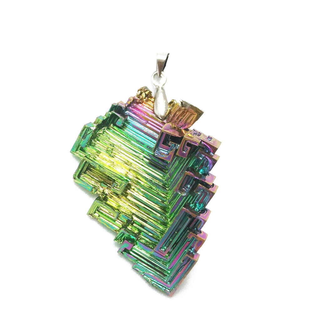 Rare Gorgeous Rainbow Titanium Bismuth Specimen Mineral Gemstone Crystal Home Decoration Crafts Stones 10/20G