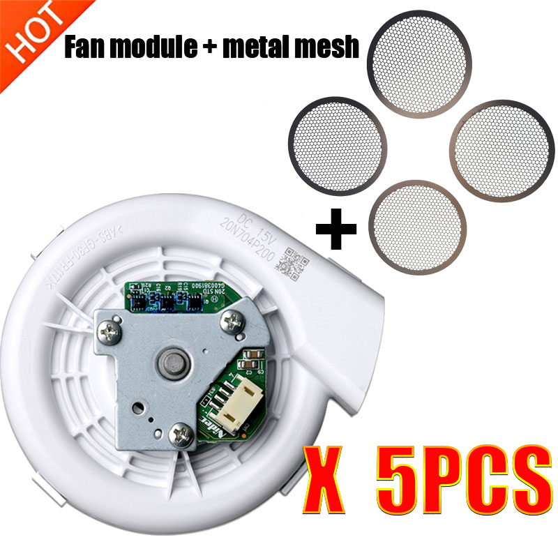 New Engine Ventilator Fan Motor Vacuum Module With Metal Mesh For Xiaomi Vacuum Cleaner Roborock S50 S51 Robotic