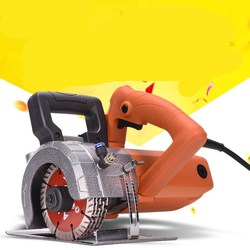 Electric wall chaser cutting machine hydropower installation wall slotting machine 9000RPM 125MM 220V