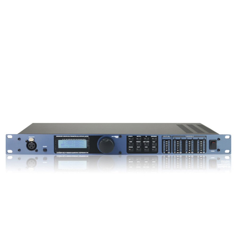 Professional Audio Processor PA 2 Into 6 Out Of Professional Processor Stage Show Family KTV Karaoke OK Digital Audio Processor