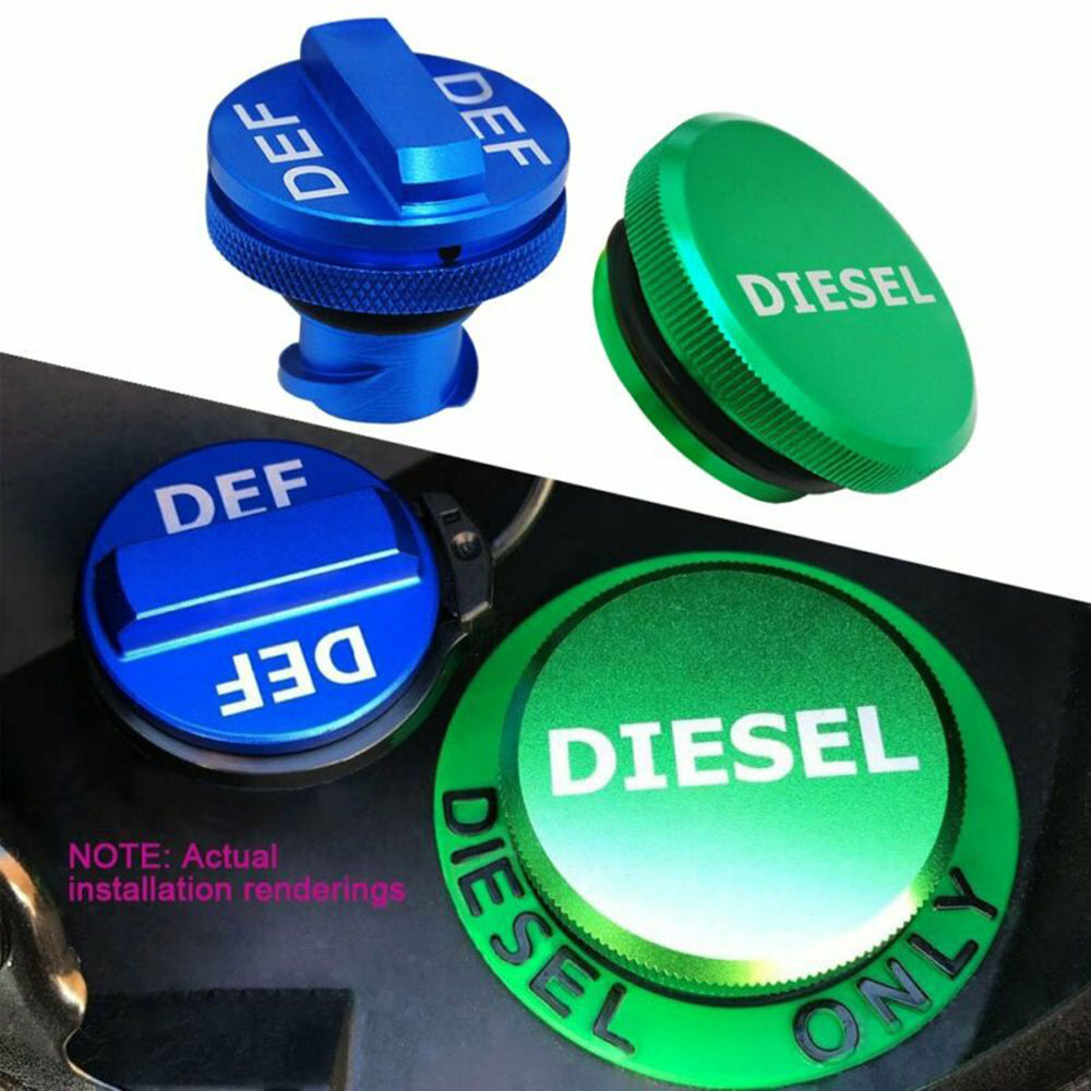 Hot Sale Diesel Filler Cap & DEF Cap Combo For Dodge Ram Truck 1500 2500 3500 2013-2017 Brand New And High Quality