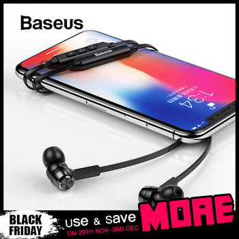 Baseus S06 Neckband Bluetooth Earphone Wireless earphones For Xiaomi iPhone earbuds stereo auriculares fone de ouvido with MIC