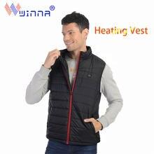 Теплый жилет с подогревом моющийся usb зарядкой теплый контроль