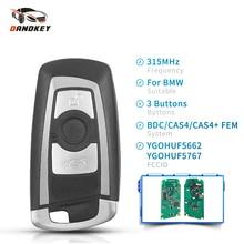 Dandkey Smart Remote Key Fob For BMW F 5 7 Series FEM / BDC CAS4 CAS4+ EWS5 System 315MHz 434MHz 868MHz 2009   2016 YGOHUF5662