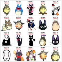 Japan Anime Spirited Away Totoro New Cartoon 30pcs/lot Acrylic Resins Pattern Planar