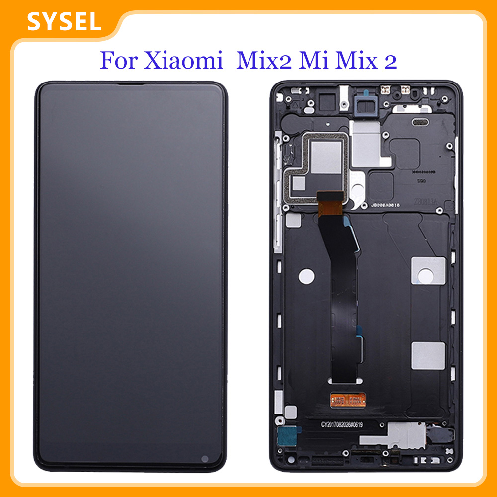 For Xiaomi Mix2 Mi Mix 2 LCD Displa Touch Screen Panel Phone Repair Assembly Free Tools