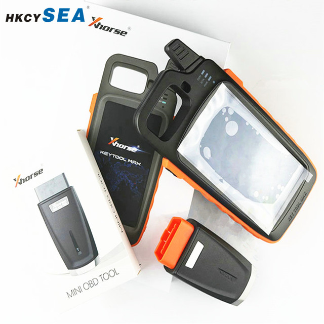 Xhorse VVDI Key Tool Max Programmer with VVDI MINI OBD Tool Bluetooth Update free Generate Transponder Chip and Remote