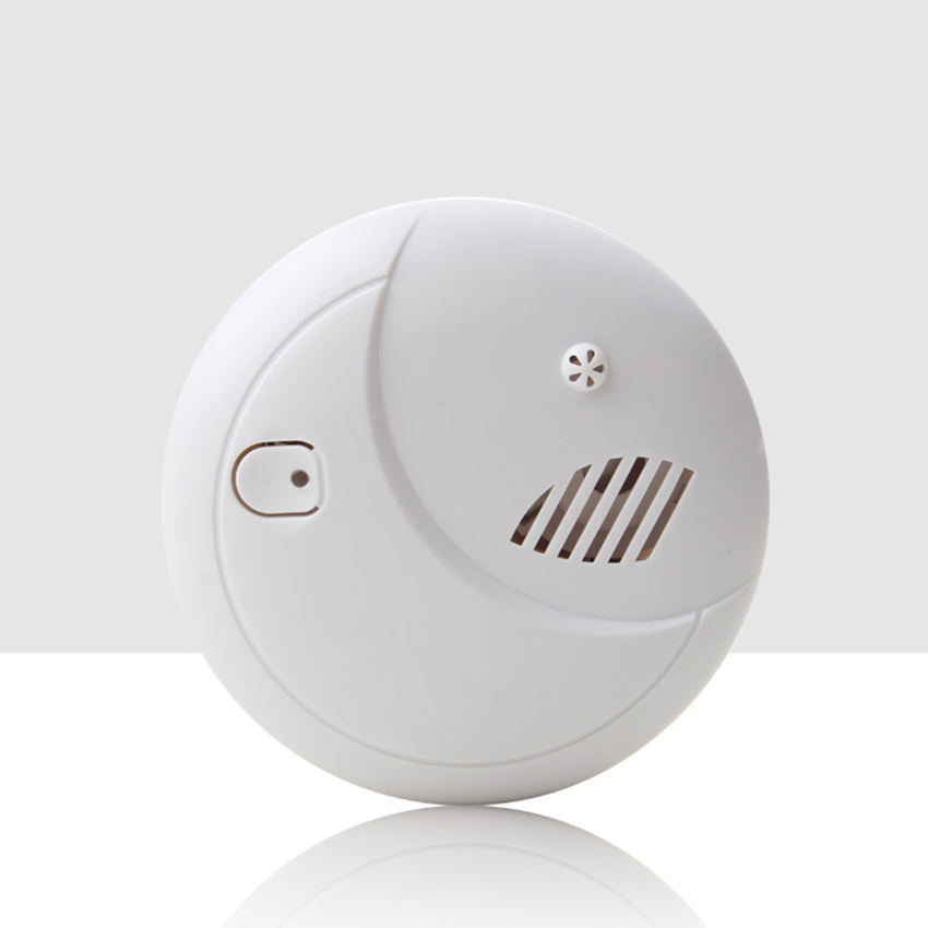 Independent Fire Temperature Smoke Alarm Indoor Home Temperature Sensor Wireless Fire Alarm Detector, Battery Operated