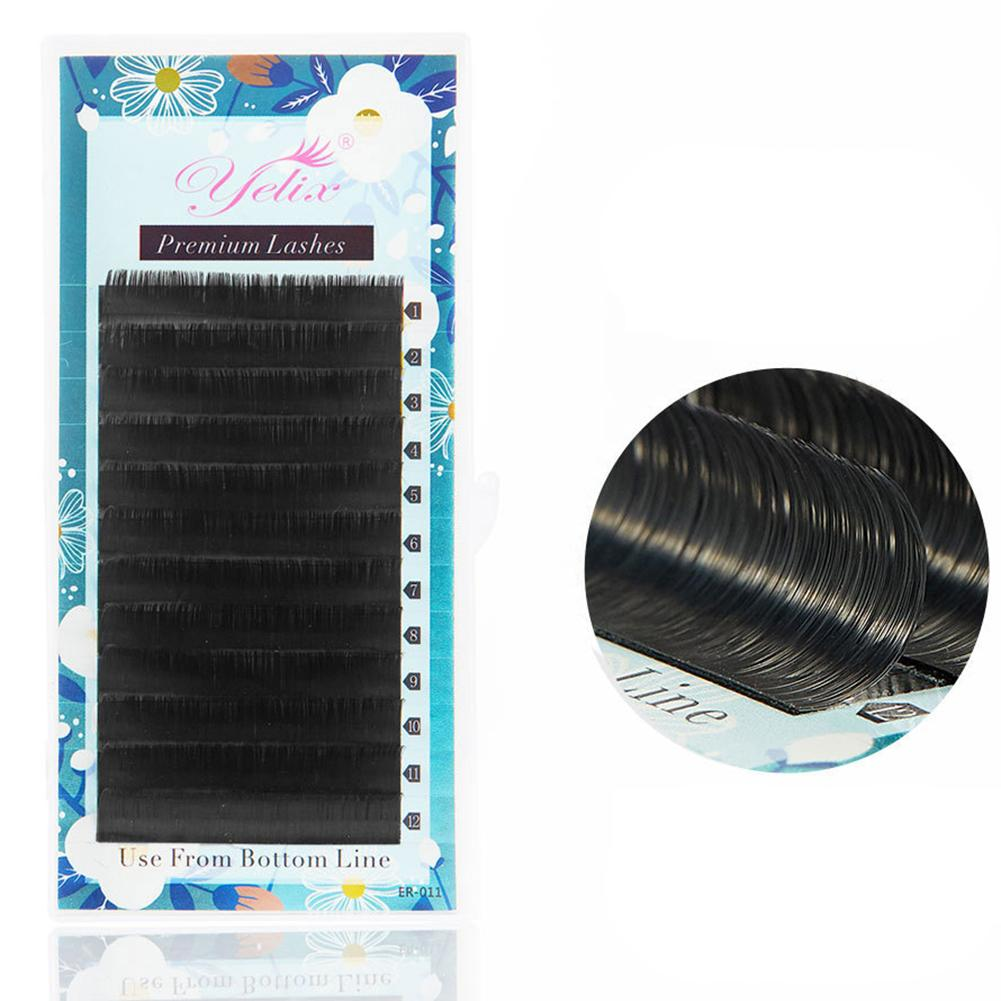 Silk Matte False Eyelashes Long Lasting Waterproof Curling Soft Flat Lashes