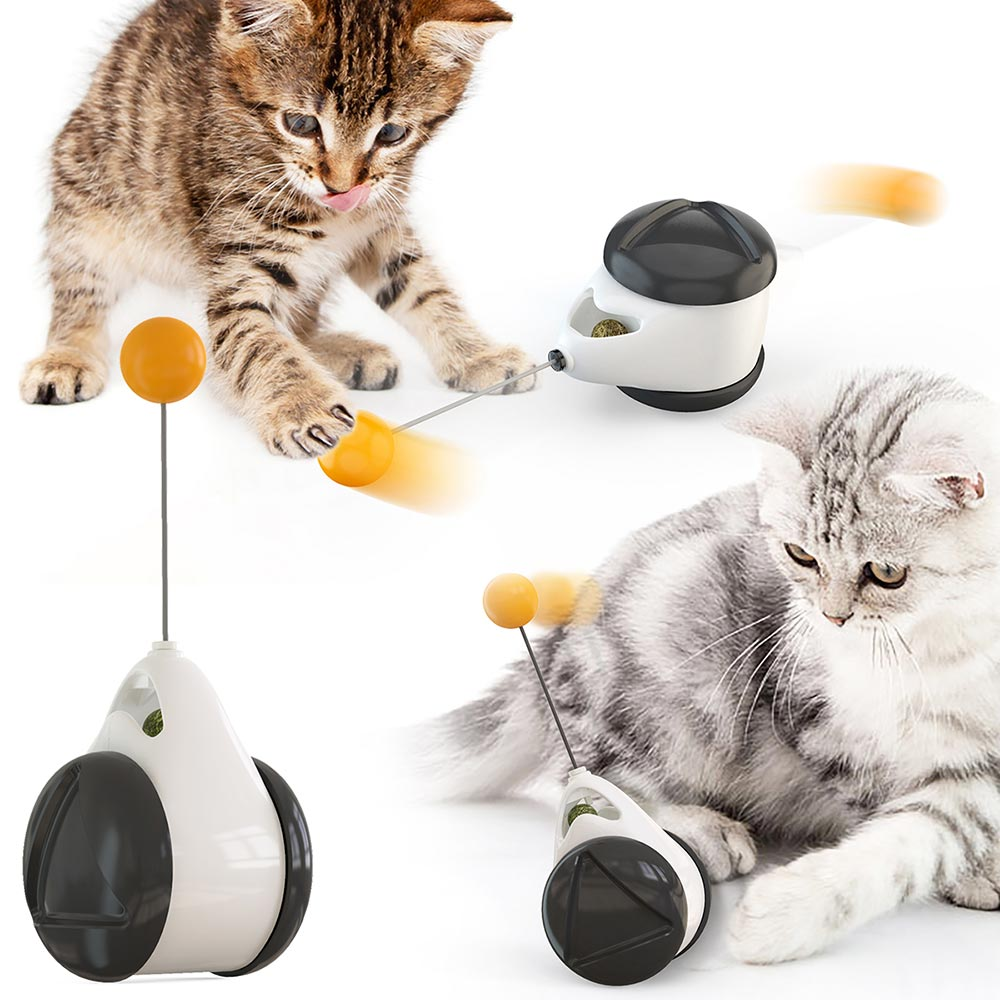 Irregular Rotating Mode Cat Toys Wheel Self Balance Pet Toy Cute Interactive Toys Funny Kitty Toys Pet Product Hot New|Cat Toys|   - AliExpress