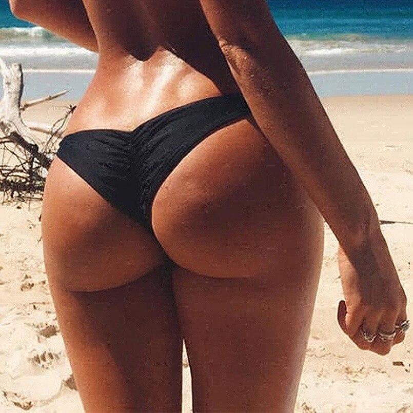 Swimwear Women Briefs Bikini Bottom Braillian Thong Classic Bottoms Tango Sexy Bikini String Bathing Suit Ladies Swimsuit