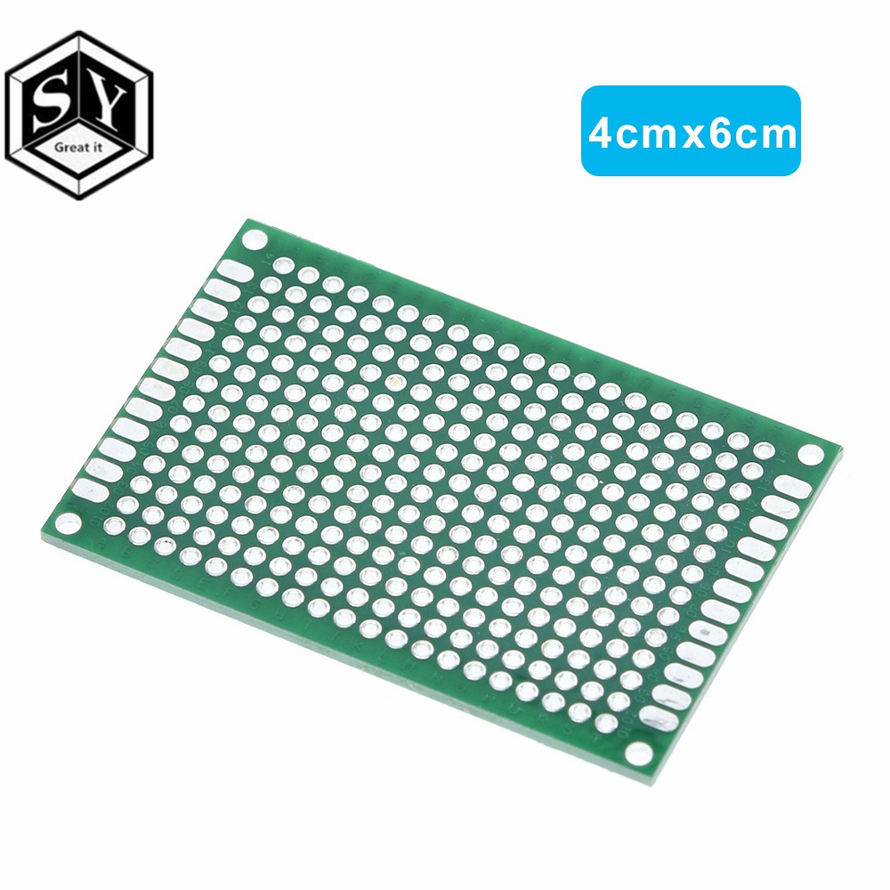 Single Sided Universal PCB Proto Prototype Perf Board 2.54 mm 9*15 9 x 15 cm