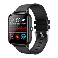 SENBONO 2021 inteligentny zegarek mężczyźni wsparcie Bluetooth zadzwoń niestandardowy Dial Fitness sportowy Smartwatch Tracker kobiety dla IOS Android PK P8