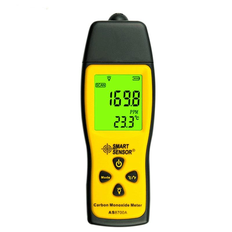 AS8700A co détecteur de fuite de gaz détecteur de gaz testeur