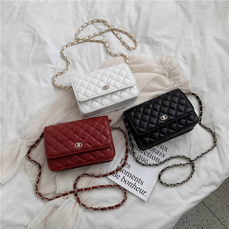 High-Grade Small Bag Female 2020 New Ling Ge Chain Bag Shoulder Bag Fashion Handbags